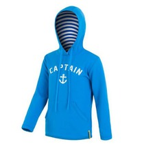 Children hoodie Sensor Tecnostretch Anchor blue 16200138, Sensor