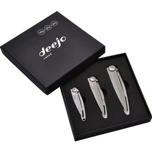 Deejo set 3 knives Naked 15G, 27G, 37G DEE003, Deejo
