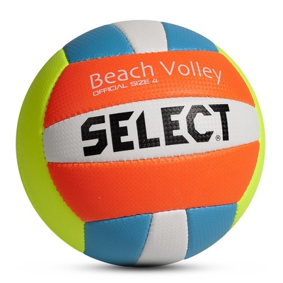 Volleyball ball Select UK Beach Volley yellow blue