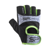 Women fitness gloves Spokey ELENA II lime, Spokey