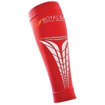 Compression calf covers ROYAL BAY® Extreme Red 3140, ROYAL BAY®