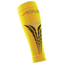 Compression calf covers ROYAL BAY® Extreme Yellow 1140, ROYAL BAY®
