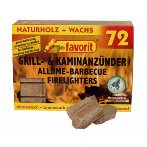 Solid firelighter Favorit 72ks 1828.015, Favorit