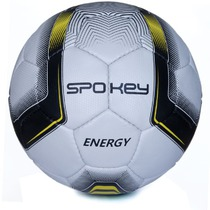 Football ball Spokey ENERGY white-yellow size. 4, Spokey