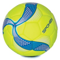 Football ball Spokey COSMIC limeta-blue vel.5, Spokey