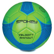 Football ball Spokey VELOCITY SHINOUT green-blue č.5, Spokey