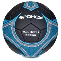 Football ball Spokey VELOCITY SPEAR black and blue vel.5, Spokey