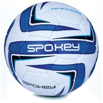 Football ball Spokey SHADOW II white-blue č.5, Spokey