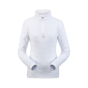 Turtleneck Spyder Women's Shimmer Bug Velour Fleece T-Neck 194091-100, Spyder