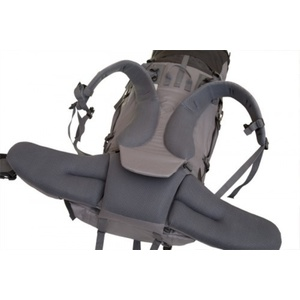 Backpack Fjord Nansen Himil 70 + 10 l black-gray 44239, Fjord Nansen