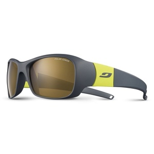 Sun glasses Julbo PICCOLO Polar3 Junior dark gray / yellow green, Julbo