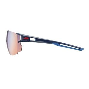 Sun glasses Julbo AEROSPEED ZEBRA LIGHT RED dark blue / dark blue / orange, Julbo