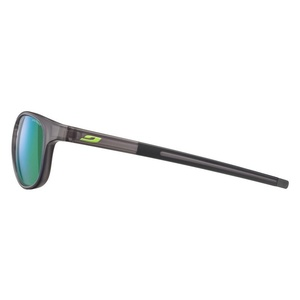 Sun glasses Julbo RESIST SP3 CF translucent black / green, Julbo