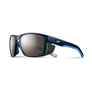 Sun glasses Julbo SHIELD SP4 dark blue / blue / green, Julbo