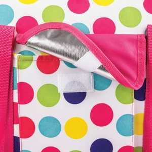 Beach thermal bag Spokey SAN REMO coloured dot, Spokey