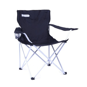 Chair Spokey ANGLER black and gray