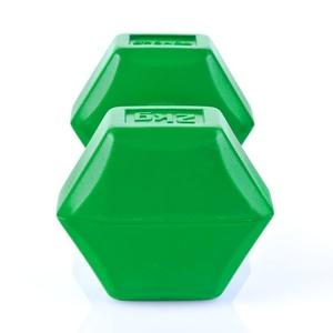 Set hex dumbbells Spokey MONSTER II 2x2 kg, Spokey