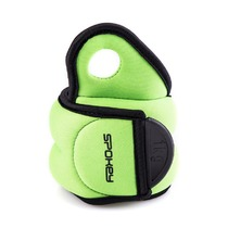Weights to wrists Spokey COM FORM IV 2 x 1kg green, Spokey