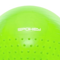 Gymnastic ball Spokey HALF FIT 2v1 65 cm including pump green, Spokey