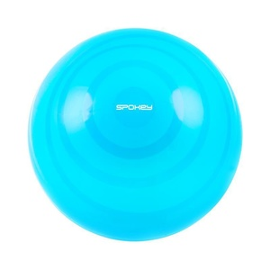 Gymnastic ball Spokey Fitball FLEX 55 cm including pump turquoise, Spokey