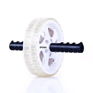 Double exercising wheel Spokey TWIN B II gray, Spokey