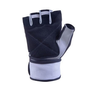 Fitness gloves Spokey GANT II black white, Spokey