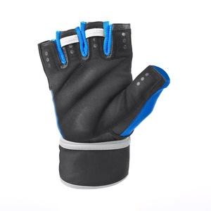 Fitness gloves Spokey RAYO 3rd black and blue, Spokey