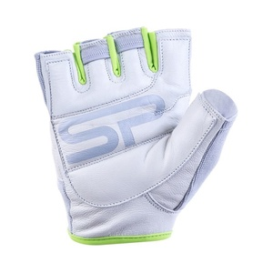 Women fitness gloves Spokey ZOE II white-lime, Spokey
