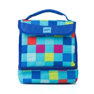 Svačinová a thermoshell Spokey LUNCH BOX BLUE, Spokey