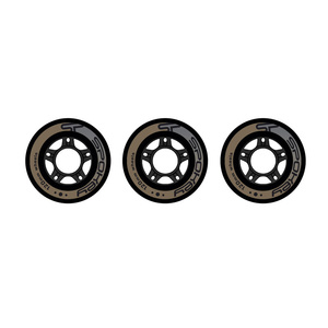 Wheels to skates Spokey PU 120 mm 3ks, Spokey