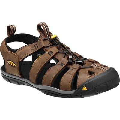 Sandals Keen CLEARWATER CNX Leather Men dark earth/black, Keen