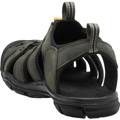 Sandals Keen CLEARWATER CNX Leather Men magnet/black, Keen