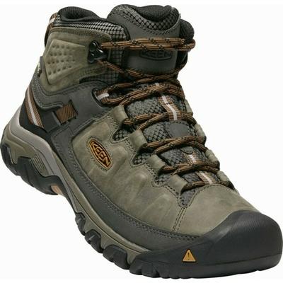 Shoes Keen TARGHEE III Mid WP Men black olive/golden brown, Keen