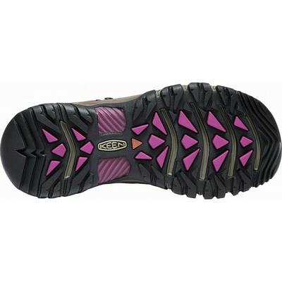 Shoes Keen TARGHEE III Mid WP Women weiss/boysenberry, Keen
