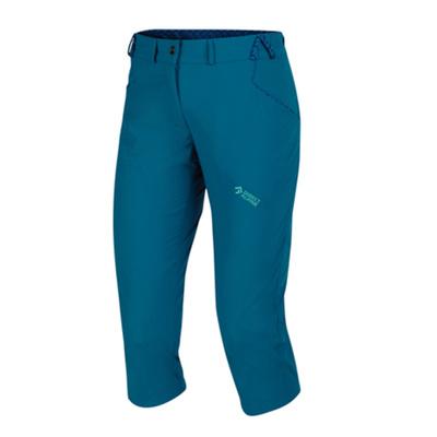 Outdoor pants IRIS Lady 3/4 petrol / menthol, Direct Alpine