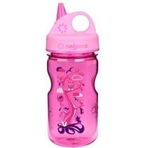 Bottle Nalgene Grip'n Gulp 350ml 2182-1112 pink woodland, Nalgene
