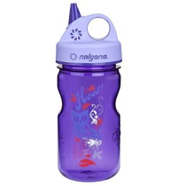 Bottle Nalgene Grip'n Gulp 350ml 2182-1212 purple hoot, Nalgene