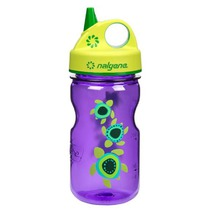 Bottle Nalgene Grip'n Gulp 350ml 2182-2112 purple sea turtles, Nalgene