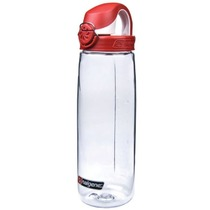 Bottle Nalgene OTF 0,7l 5565-1024 clear fire red, Nalgene