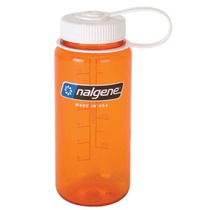Bottle Nalgene Wide Mouth 0,5l 2178-1316 orange, Nalgene