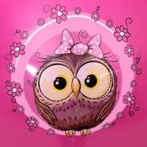 Jumping ball Spokey LITTLE OWL 45 cm, Spokey