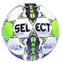 Ball Select Futsal talento 11 white purple, Select