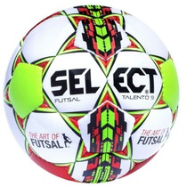 Ball Select Futsal talento 9 white red, Select