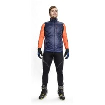 Men vest Silvini TICINO MJ1104 navy-orange, Silvini