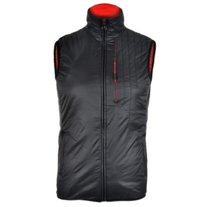 Men vest Silvini TICINO MJ1104 black-red, Silvini