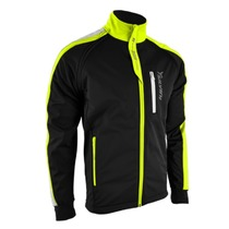 Men softshell jacket Silvini Mutta MJ426 black-neon, Silvini
