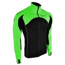 Men hoodie Silvini Mates MJ712 black-green, Silvini
