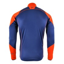 Men hoodie Silvini Mates MJ712 navy-orange, Silvini