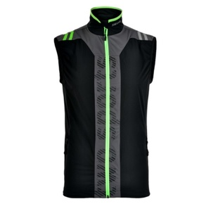 Men vest Silvini MUSONE MJ717 black-green, Silvini
