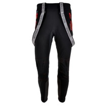 Men pants to cross country skiis Silvini MAZARO PRO MP1101 black-red, Silvini